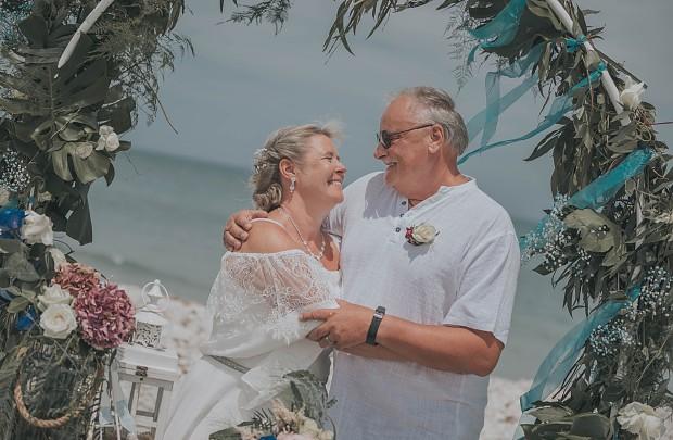 Hochzeit am Strand von Almadrava